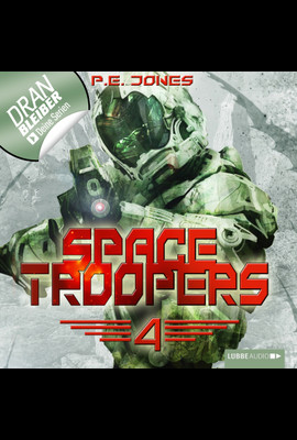 Space Troopers - Folge 04  - P. E. Jones - Hörbuch