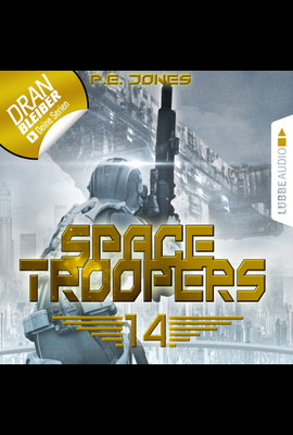 Space Troopers - Folge 14  - P. E. Jones - Hörbuch