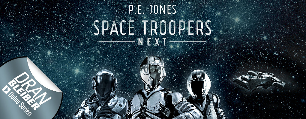 Space Troopers NEXT eBook- und Hörbuchserie