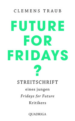 Future for Fridays?  - Clemens Traub - Hardcover