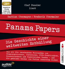 Panama Papers  - Frederik Obermaier - Hörbuch