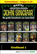 John Sinclair Großband 1 - Horror-Serie  - Jason Dark - eBook