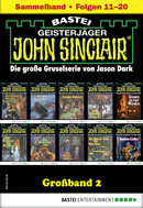 John Sinclair Großband 2 - Horror-Serie  - Jason Dark - eBook