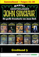 John Sinclair Großband 3 - Horror-Serie  - Jason Dark - eBook