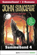 John Sinclair Sonder-Edition Sammelband 4 - Horror-Serie  - Jason Dark - eBook