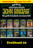 John Sinclair Großband 22 - Horror-Serie  - Jason Dark - eBook