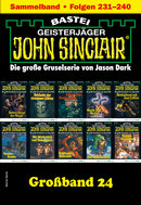 John Sinclair Großband 24 - Horror-Serie  - Jason Dark - eBook