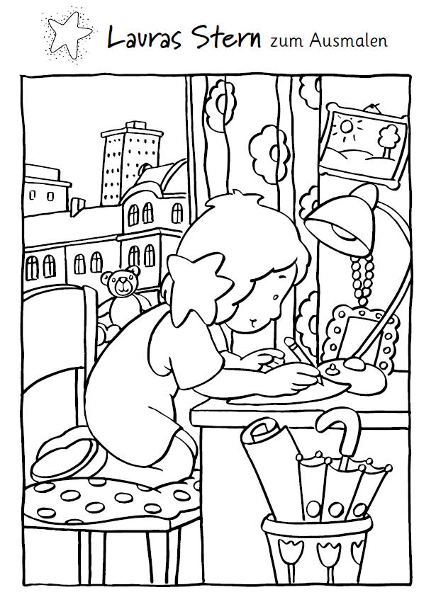 Ausmalbilder unserer Kinderbuchhelden   Boje- und Baumhaus-Verlag