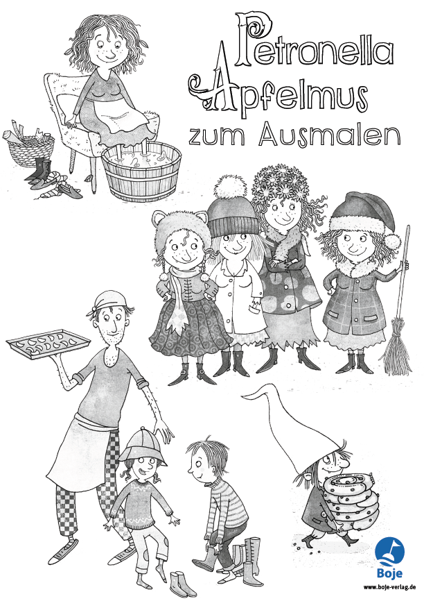 Petronella Apfelmus - Alle Bände der kleinen Apfelhexe | Boje-Verlag