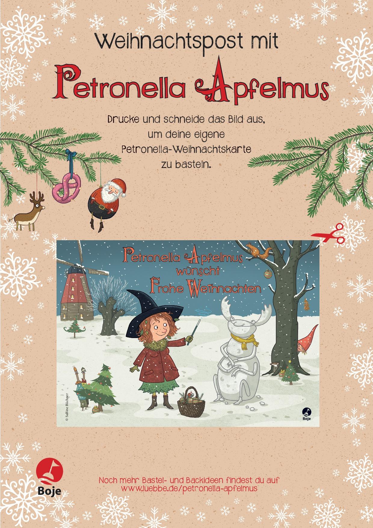 Winterliche Weihnachtsgrüße.Petronella Apfelmus Weihnachtliche Und Winterliche Rezepte Mit